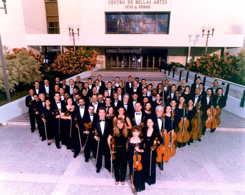 The Puerto Rico Symphony Ochestra. Photograph courtesy Festival Casals de Puerto Rico
