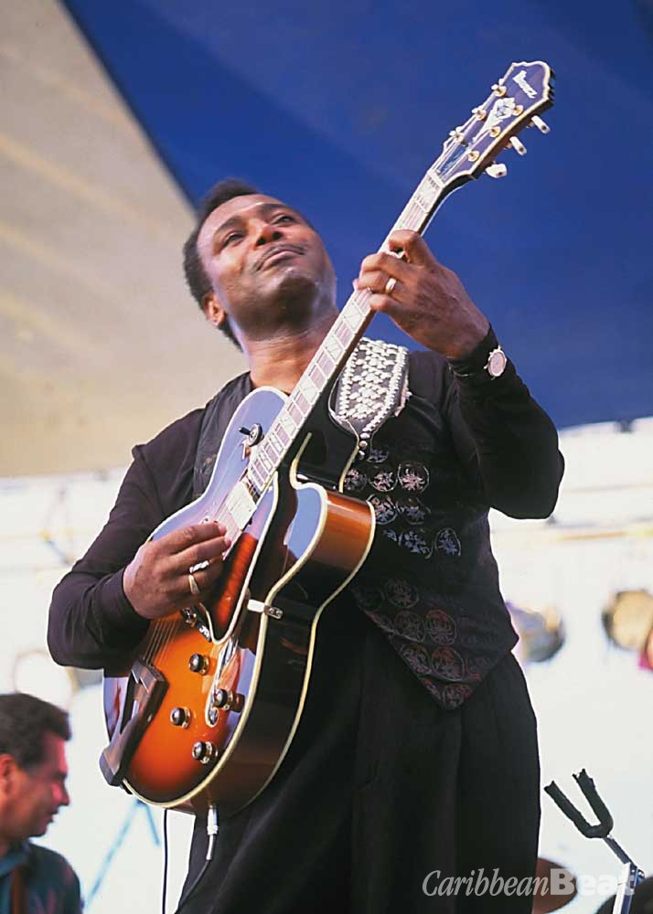 George Benson. Photograph by Chris Huxley