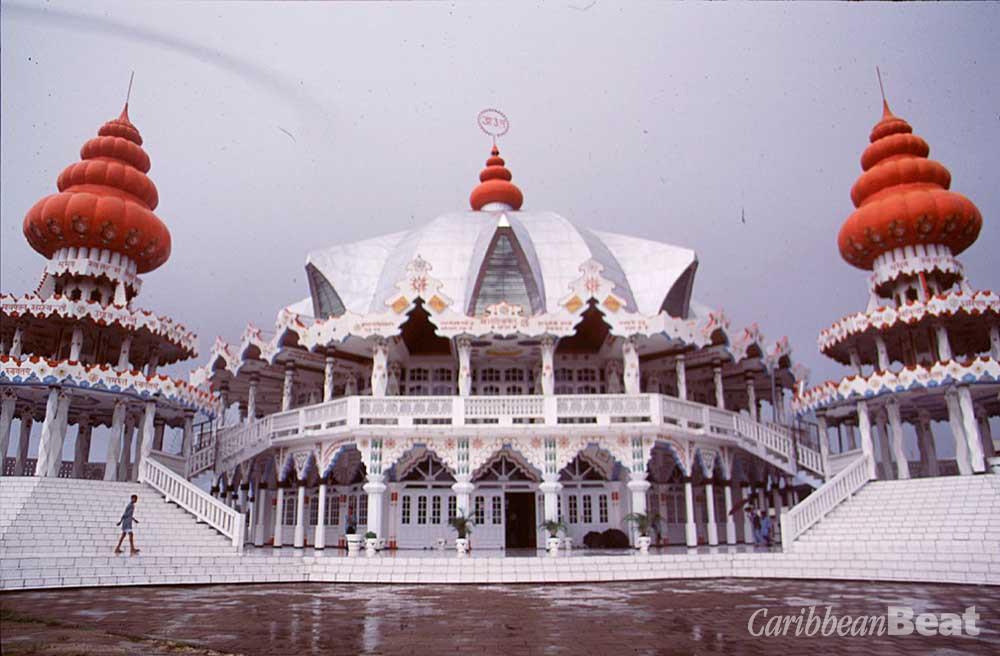 Arya Dewarker Hindu Temple, Paramaribo. Photograph by Mark Meredith