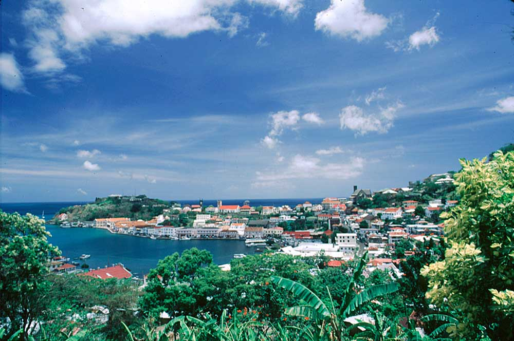 Renamed St George's (after King George III) by the British, Grenada's capital was first christened Port Louis by the French settlers who founded the city in 1705, and later Fort Royal. Photograph by Chris Huxley
