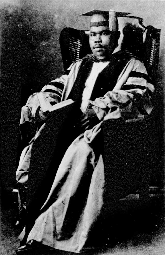 Pan-Africanist leader Marcus Garvey. Photograph courtesy the National Library of Jamaica