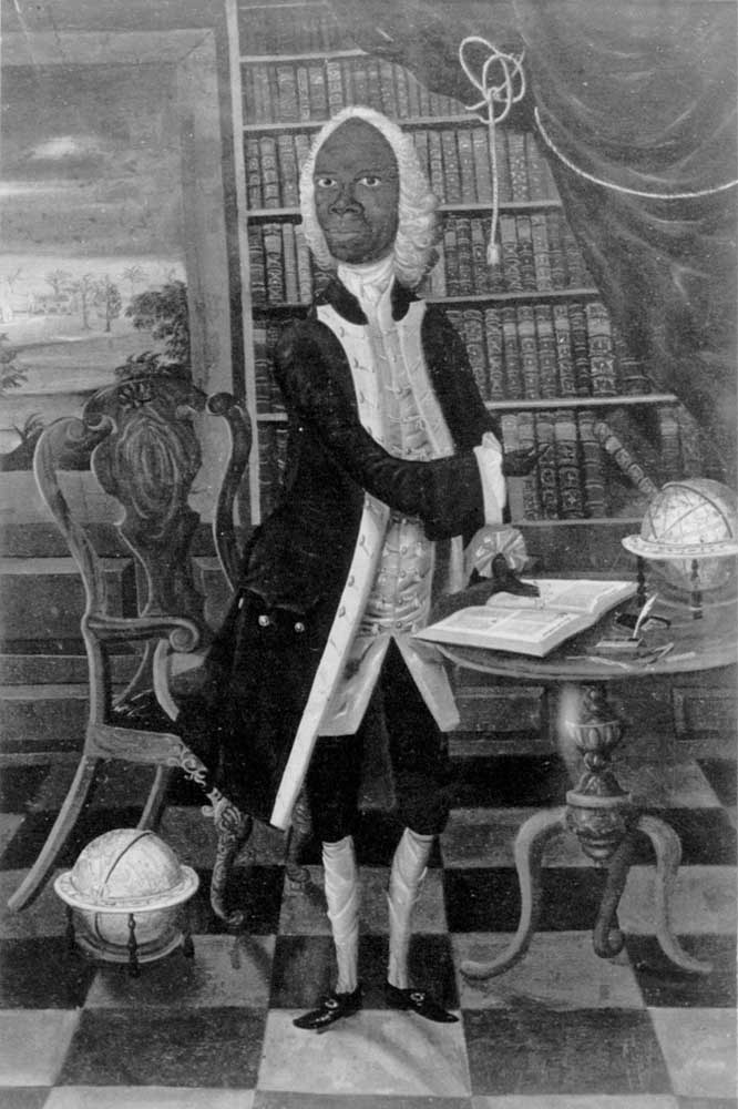 The Jamaican scholar Francis Williams. Photograph courtesy the National Library of Jamaica