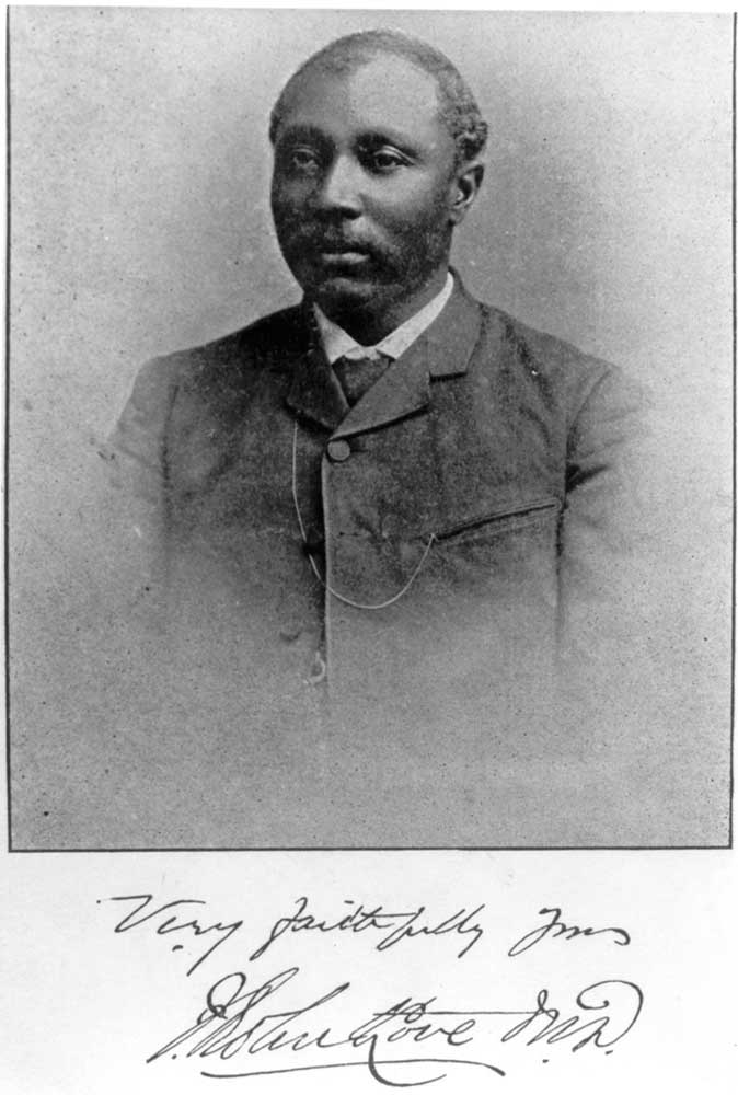 The Bahamian Dr. J. Robert Love founded The Jamaican Advocate. Photograph courtesy the National Library of Jamaica