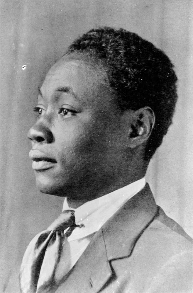 Jamaican poet Claude McKay. Photograph courtesy the National Library of Jamaica
