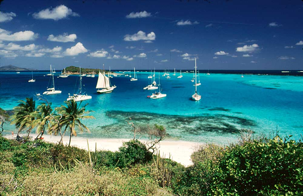 Tobago Cays. Photograph by Chris Huxley