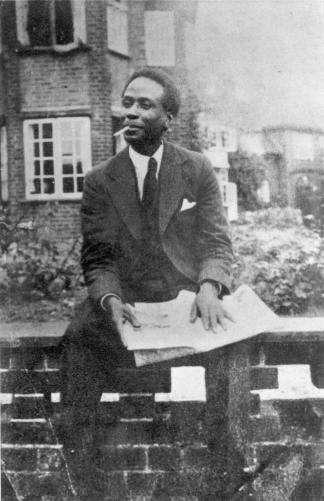 Trinidadian Pan-Africanist George Padmore became a close adviser to Kwame Nkrumah. Photograph courtesy the National Library of Jamaica