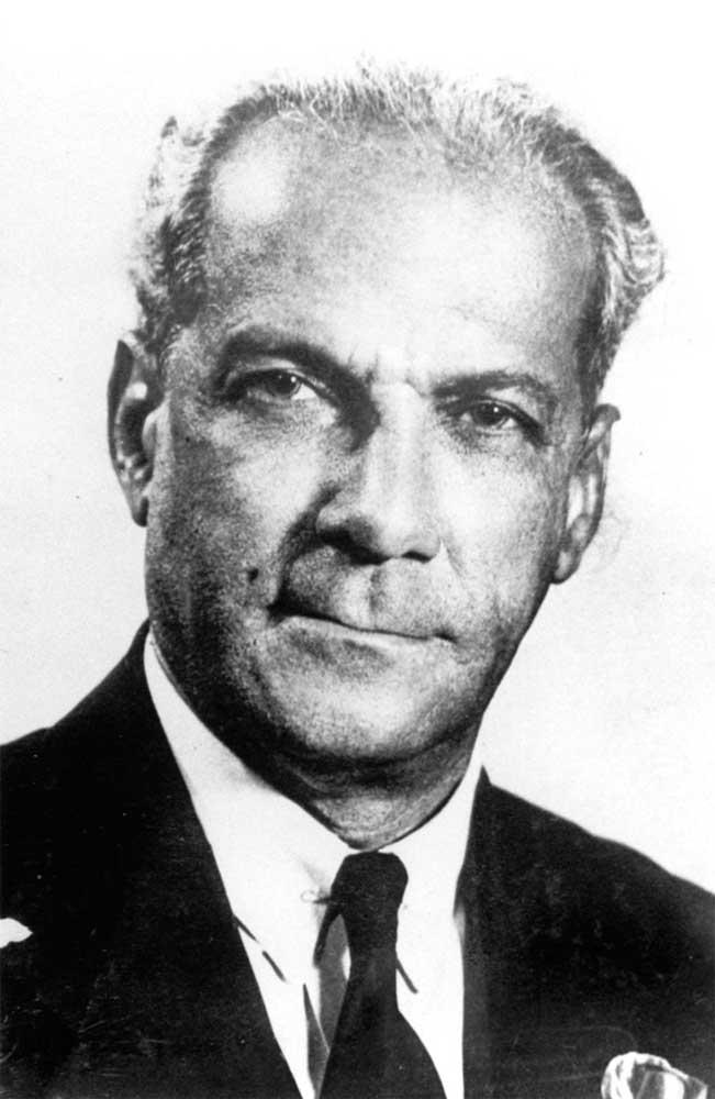 Norman Manley, founder of Jamaica's People's National Party and father of Jamaican independence. Photograph courtesy the National Library of Jamaica