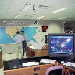 Photograph courtesy the National Hurricane Center