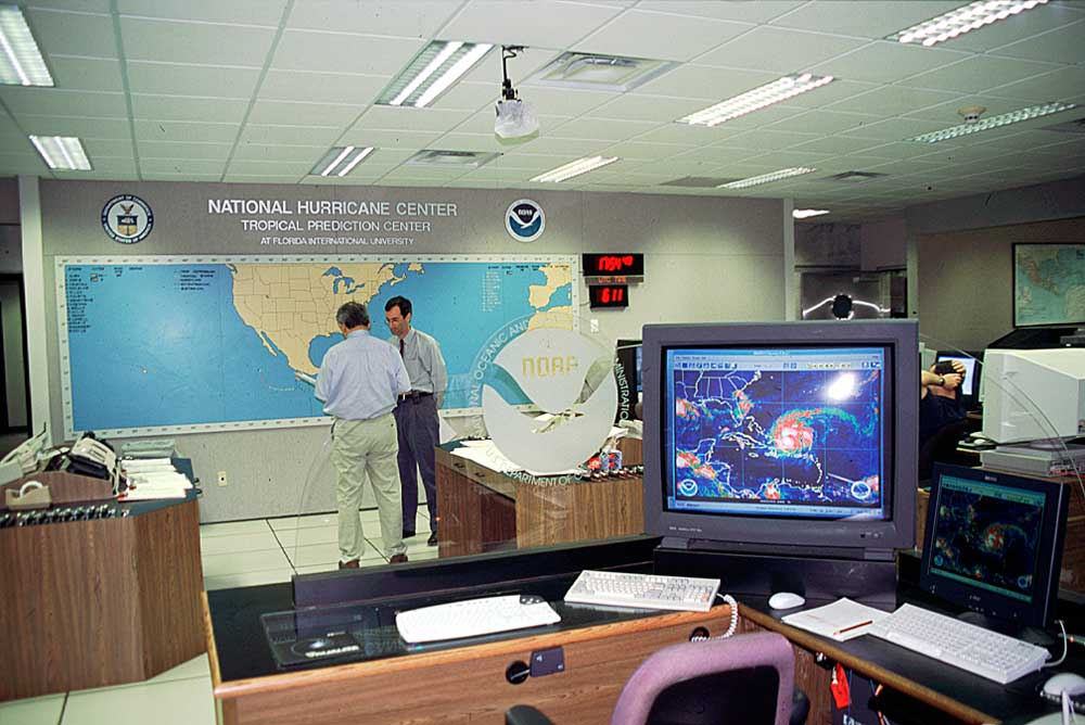 Photograph courtesy the National Hurricane Center
