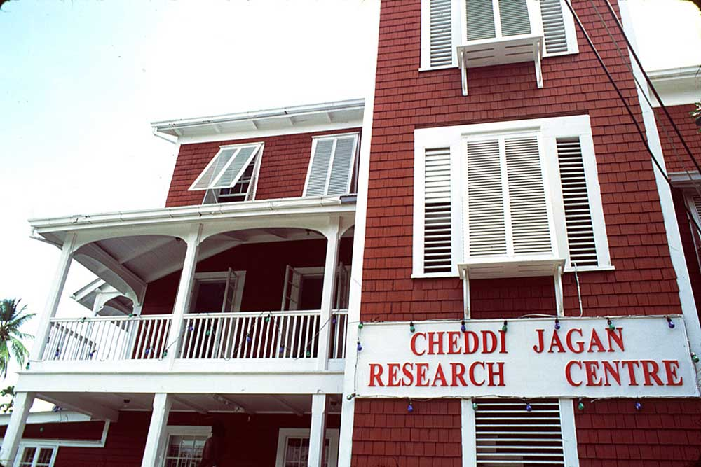 Georgetown's Red House, now the Cheddi Jagan Research Centre. Photograph by Larry Luxner
