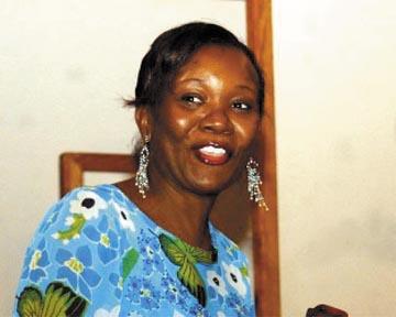 Yvonne Weekes. Photograph by Sandy Pitt/ Nation News
