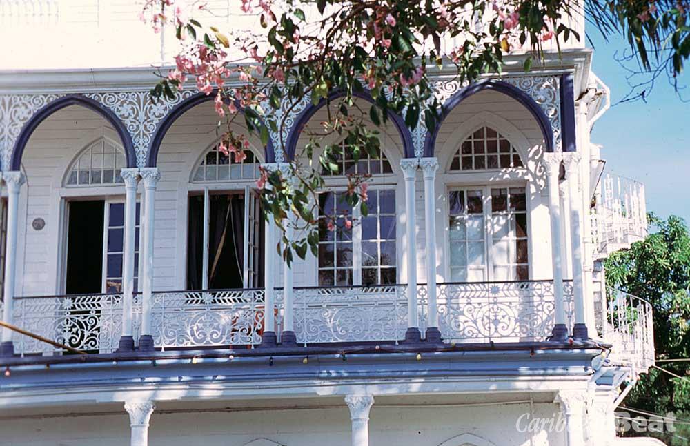 Elegantly decorative verandahs are a hallmark of City Hall. Photograph by Roxan Kinas