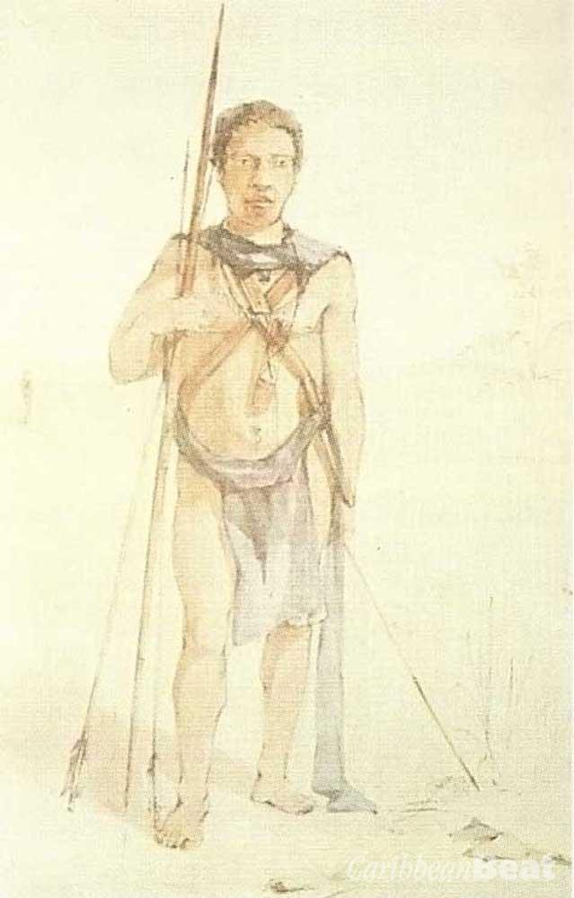Amerindian figures. Photos: British Library Board, courtesy Paria Publishing