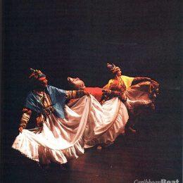 Caribbean artists. Photos by Jeffrey Chock/ courtesy Carifesta V.
