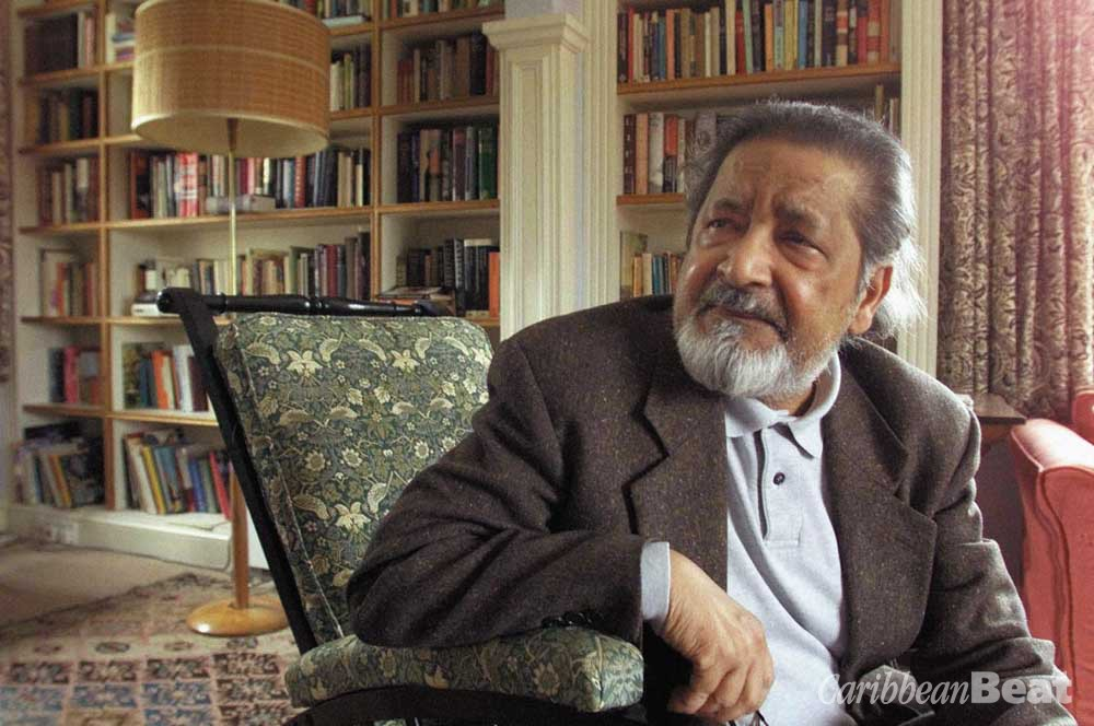 "Author V. S. Naipaul at his home near Salisbury, England, on Thursday 11 October 2001 after it was announced that he had been awarded the 2001 Nobel Prize for Literature. The 69-year-old Trinidadian-born writer was awarded the Nobel for ""having united perceptive narrative and incorruptible scrutiny in works that compel us to see the presence of suppressed histories"" according to the Nobel Academy. Photograph by AP/Chris Ison"