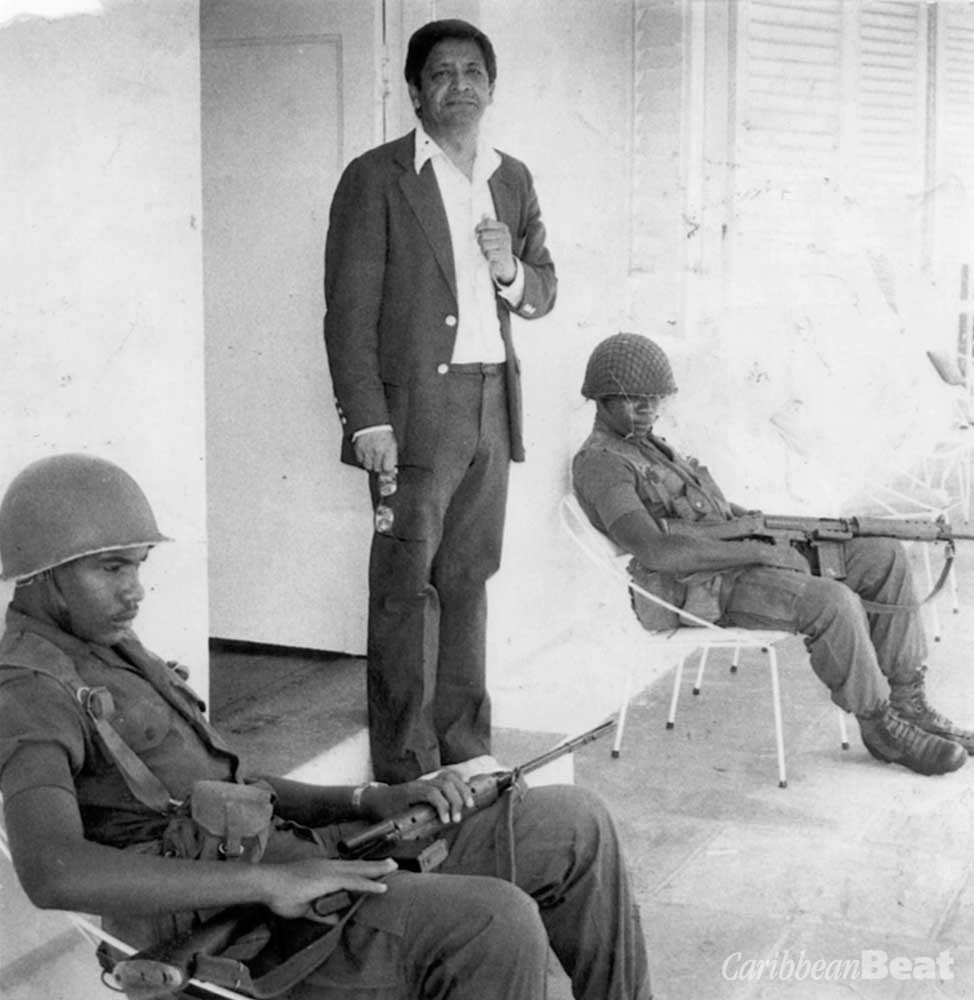 In Grenada, after the US-led invasion; 20 November 1983. Photograph courtesy Trinidad Publishing Company Limited