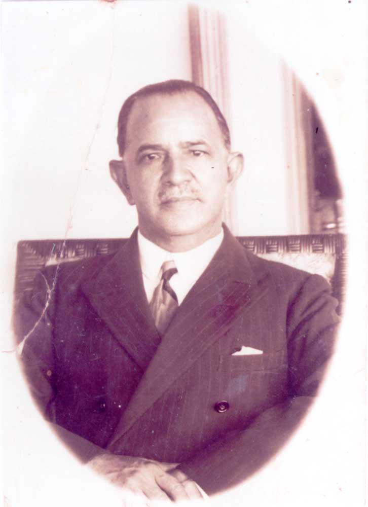 William Pettigrew Humphrey was a cinema mogul in both British Guiana and Trinidad. Photograph courtesy Adrian Camp-Campins