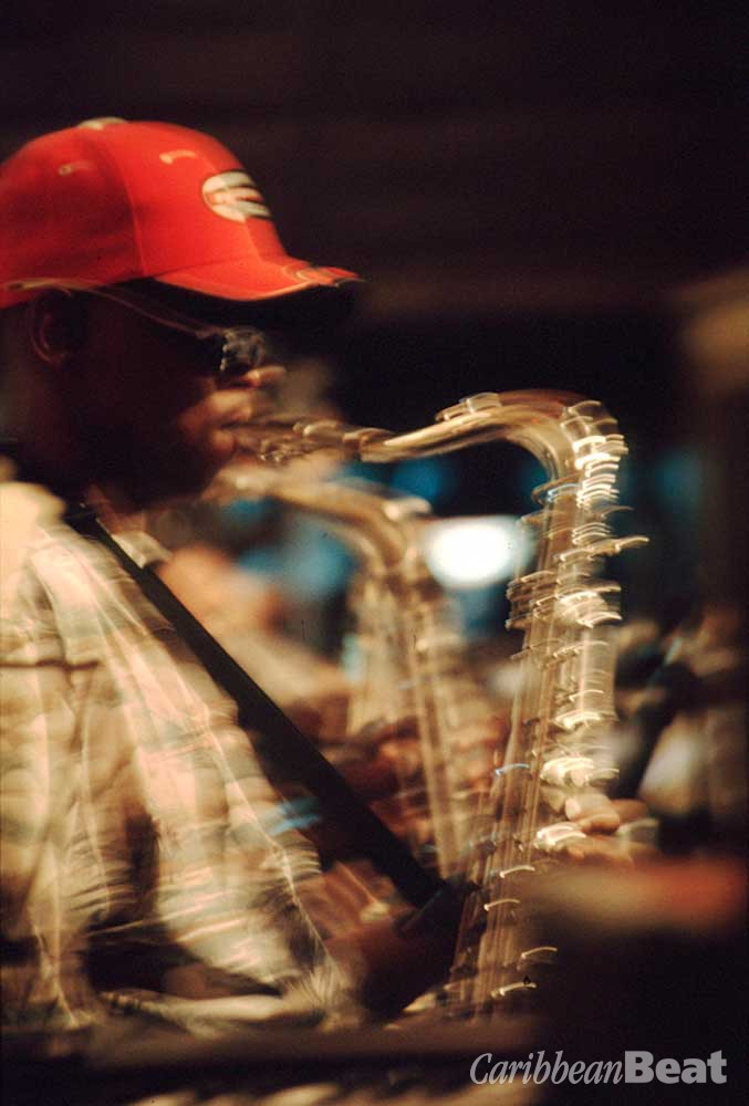 Yuh looking for horn. Photograph by Sean Drakes/Blue Mango