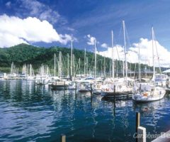 Chaguaramas is the largest yacht service centre in the Caribbean. Photograph courtesy CrewsInn
