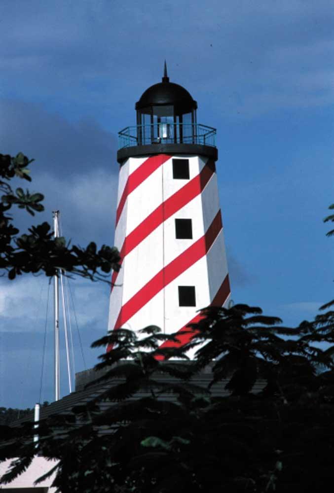 CrewsInn Lighthouse. Photograph courtesy CrewsInn