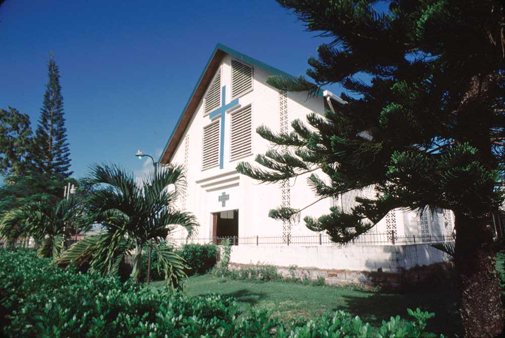 La Divina Pastora R. C. Church, Siparia, Trinidad. Photograph by Mark Lyndersay