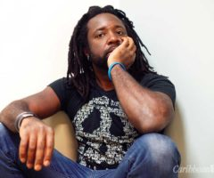 Writer Marlon James. Photograph by Jeffrey Skemp