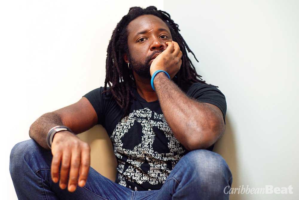 Writer Marlon James. Photograph by Jeffrey Skemp