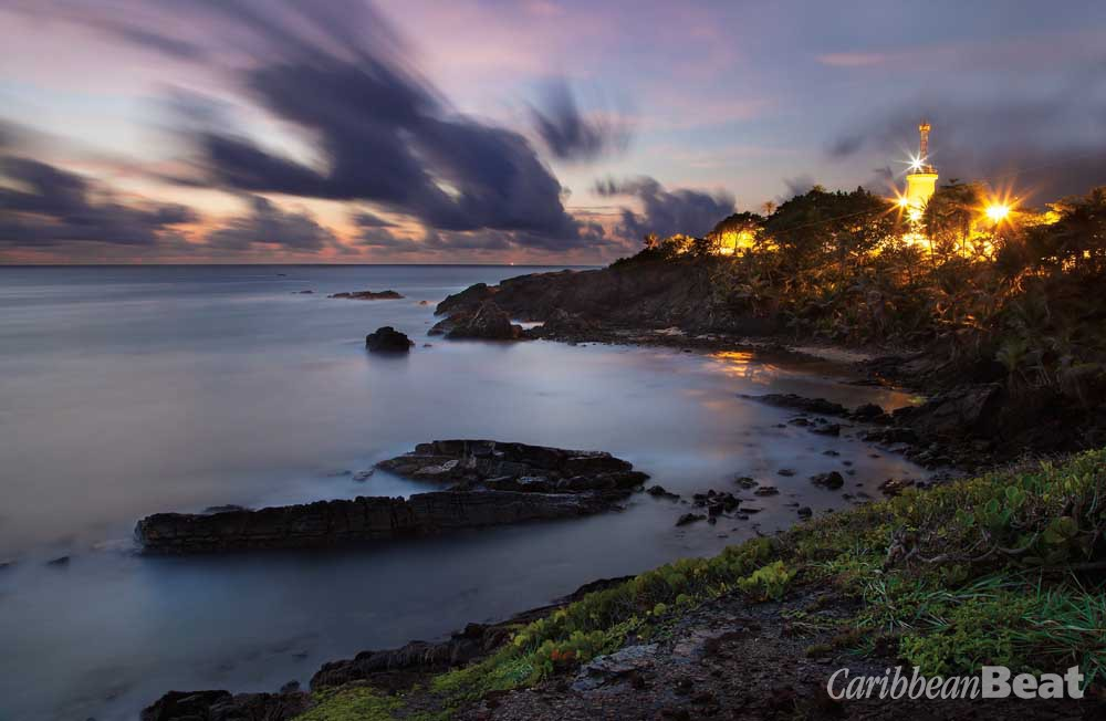 Dusk at Point Galera. Photograph by Chris Anderson