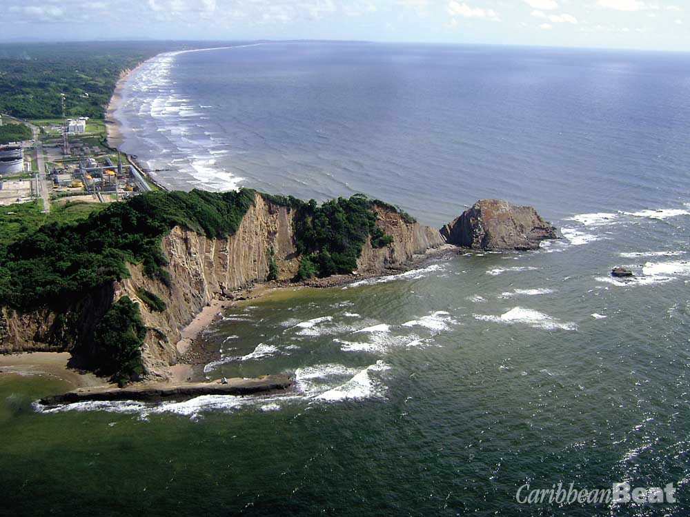 Galeota Point, at Trinidad's south-eastern tip. Photograph by Helen Shair-Singh