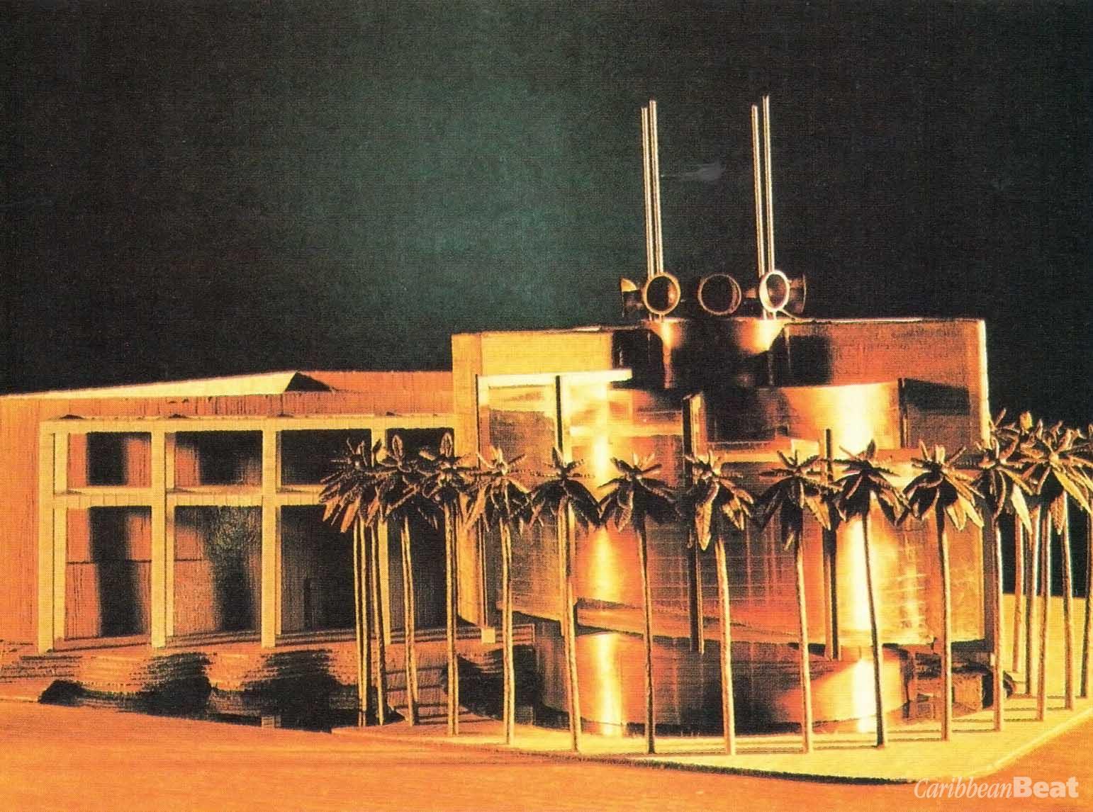 Puerto Rican pavilion (model)