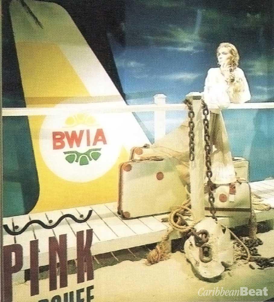 BWlA's display window at Harrods