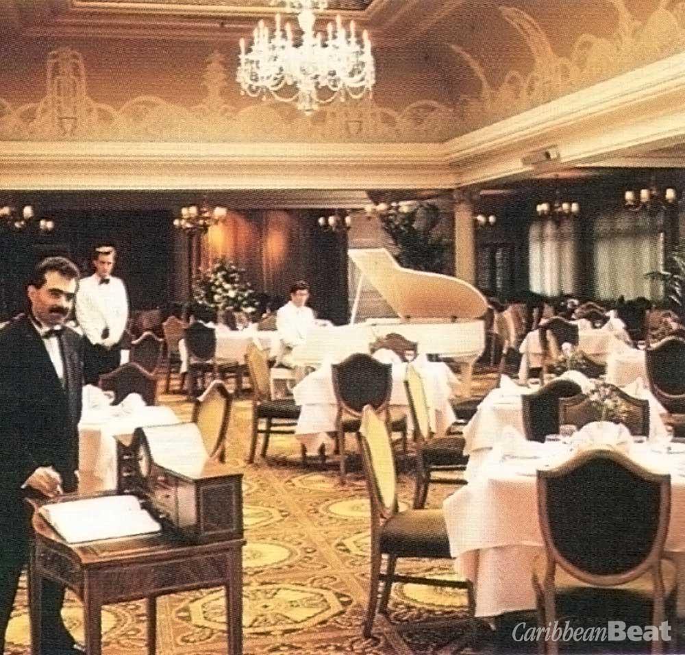 Harrod's elegant Georgian Restaurant