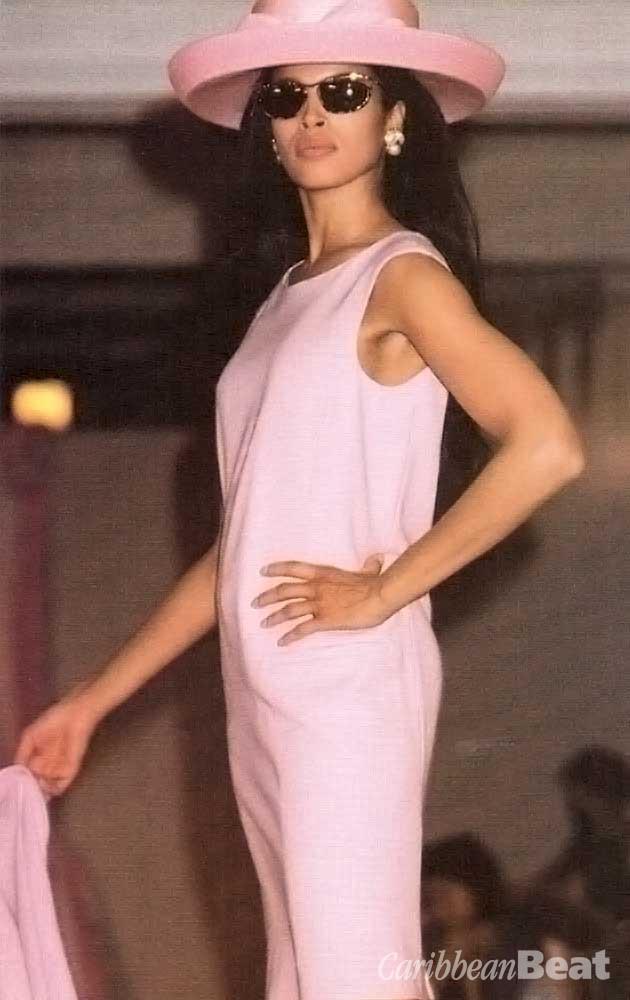 MaxMara pink dress and jacket (£412)