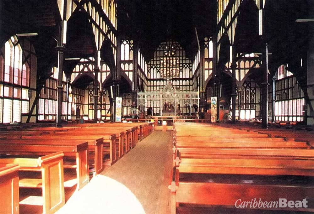 Inside St George's Cathedral. Photograph by Carol Lee