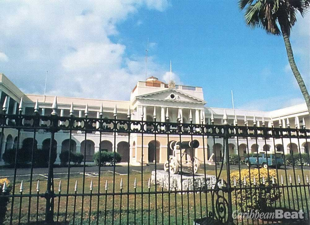 The Public Buildings, seat of Parliament. Photograph by Carol Lee