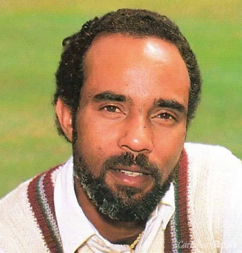 Superstars of West Indies cricket: Jeff Dujon. Photograph by Action-Plus