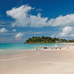 """Our beach"": Antigua's Ffryes Bay"