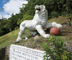 Barbados's Gun Hill: hear me roar