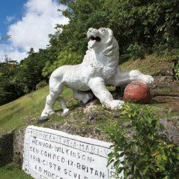 Barbados's Gun Hill: hear me roar