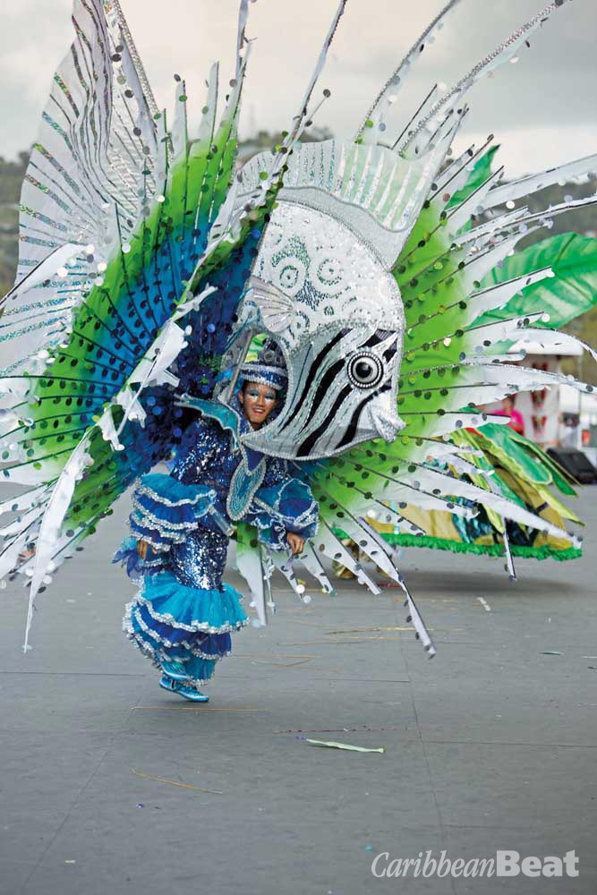 An elaborate individual costume from Colour My Culture. Photograph by Butch Limchoy