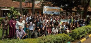 Global Voices volunteers at the 2012 summit in Nairobi. Photograph courtesy Global Voices