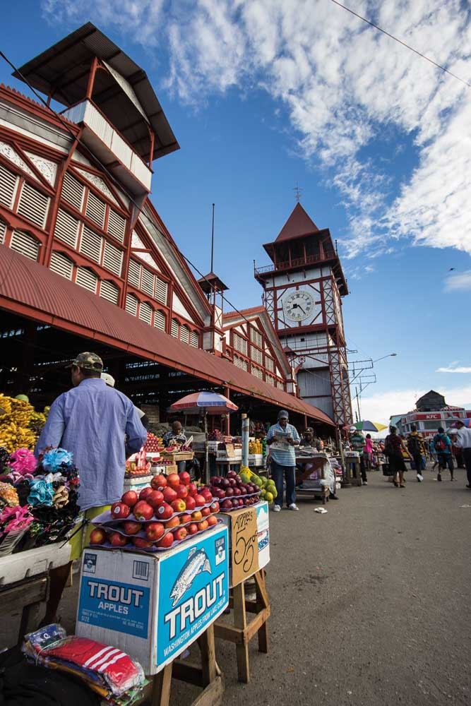 Stabroek Market, Georgetown, Guyana. Photograph by Michael Lam