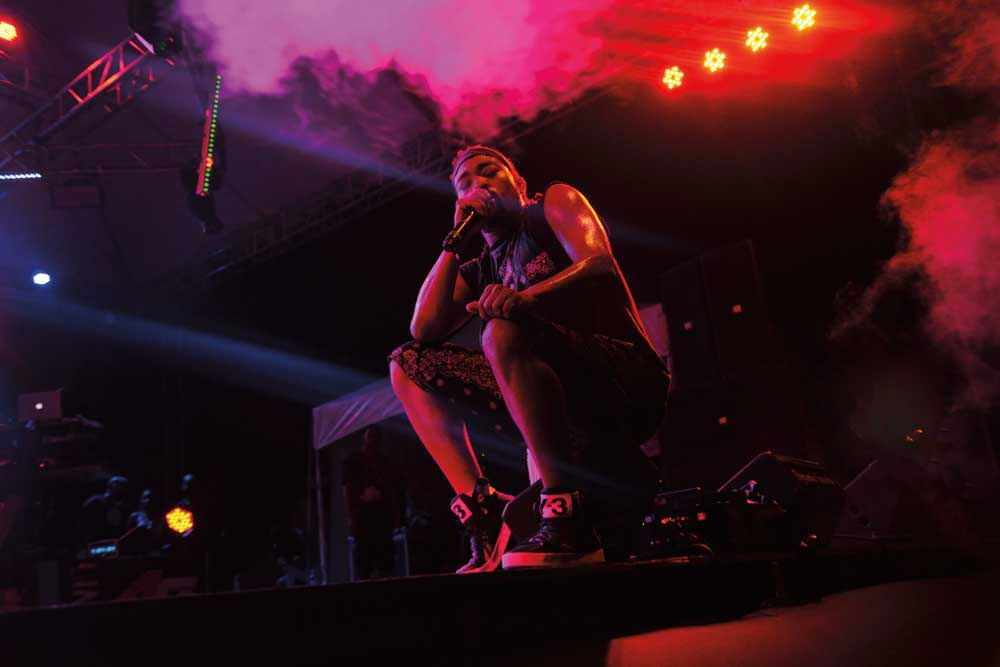Soca superstar Machel Montano. Photograph courtesy Machel Montano
