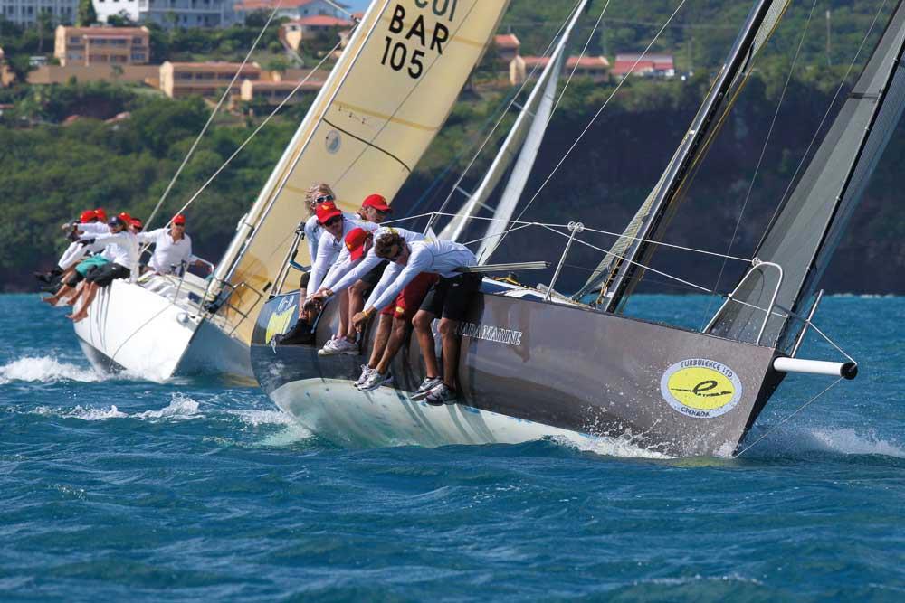 Grenada Sailing Week. Photograph by Tim Wright