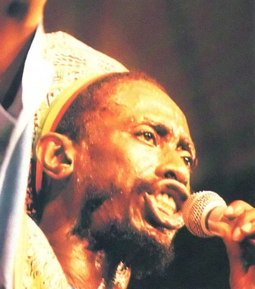 Rapso artist Brother Resistance was one of scores of other top-ranking performers. Photograph by Abigail Hadeed