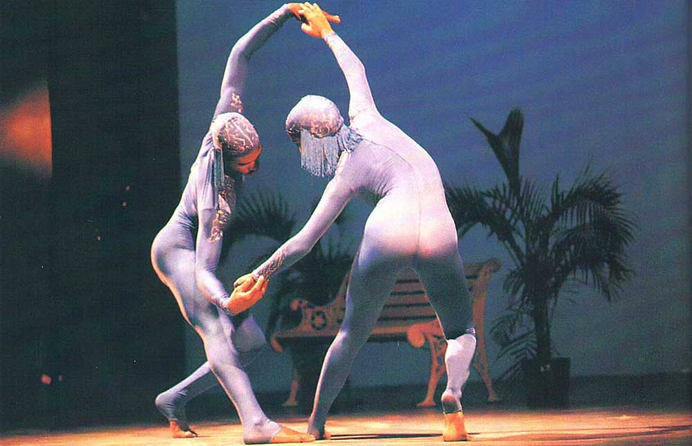 Among star performers were Jamaica's National Dance Theatre Company. Photograph by Harold Prieto
