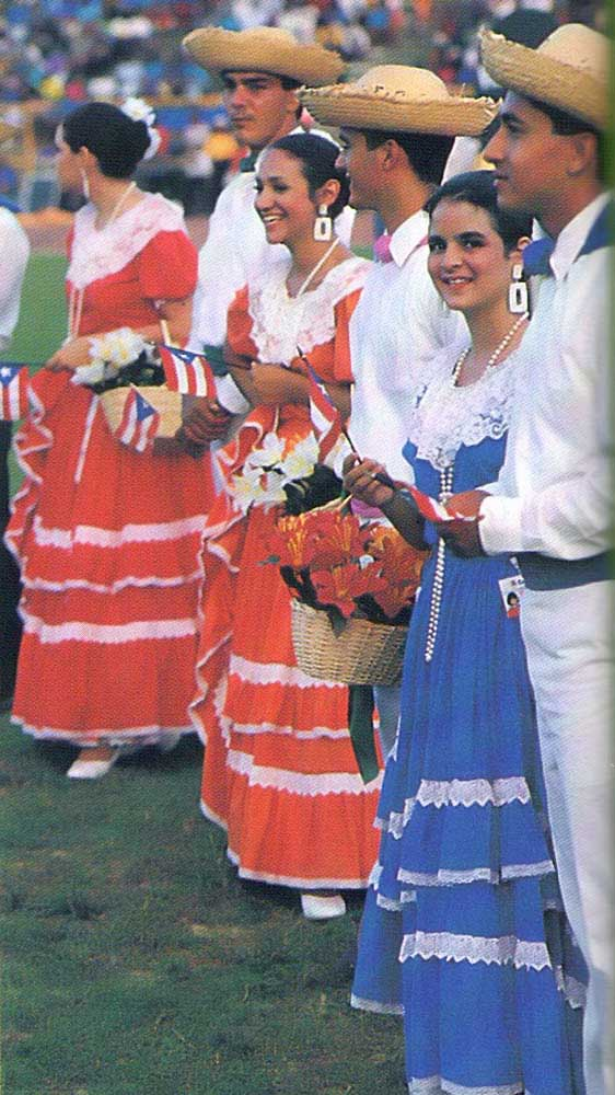 Puerto Rican dance also competed with attractions like the traditional rumshop and the Grand Market. Photograph by Harold Prieto