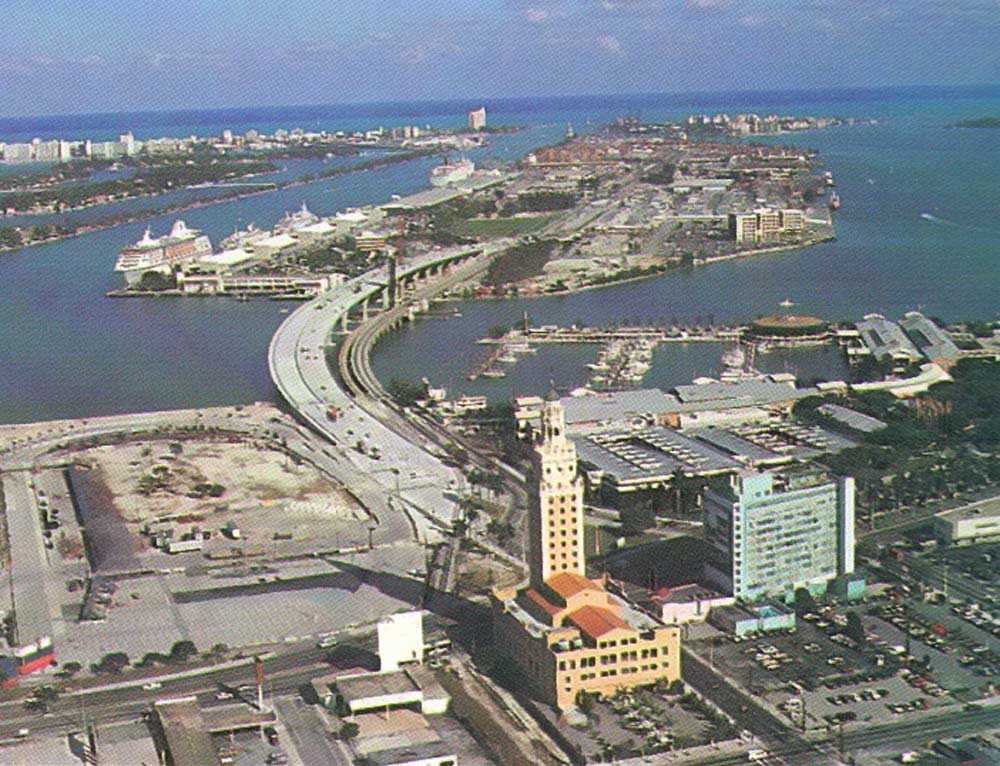 The Port of Miami on Dodge Island. Photograph by Andy Newman/P.O.M