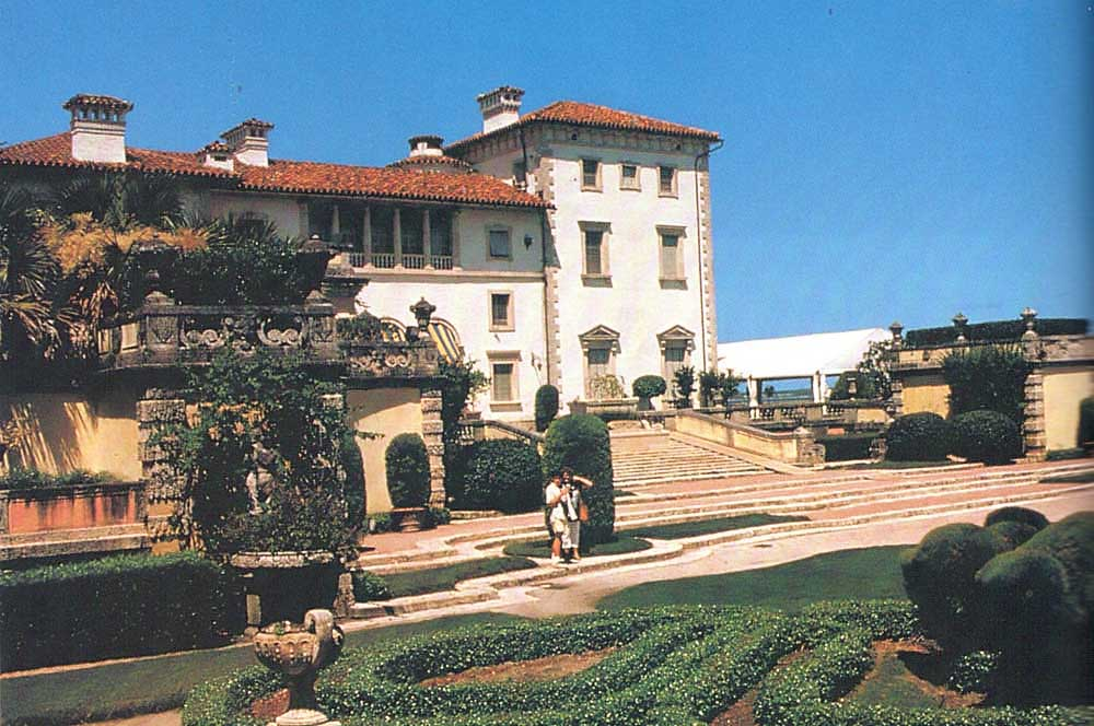 Villa Vizcaya Museum and Gardens. Photograph by Greater Miami Convention and Visitors' Bureau