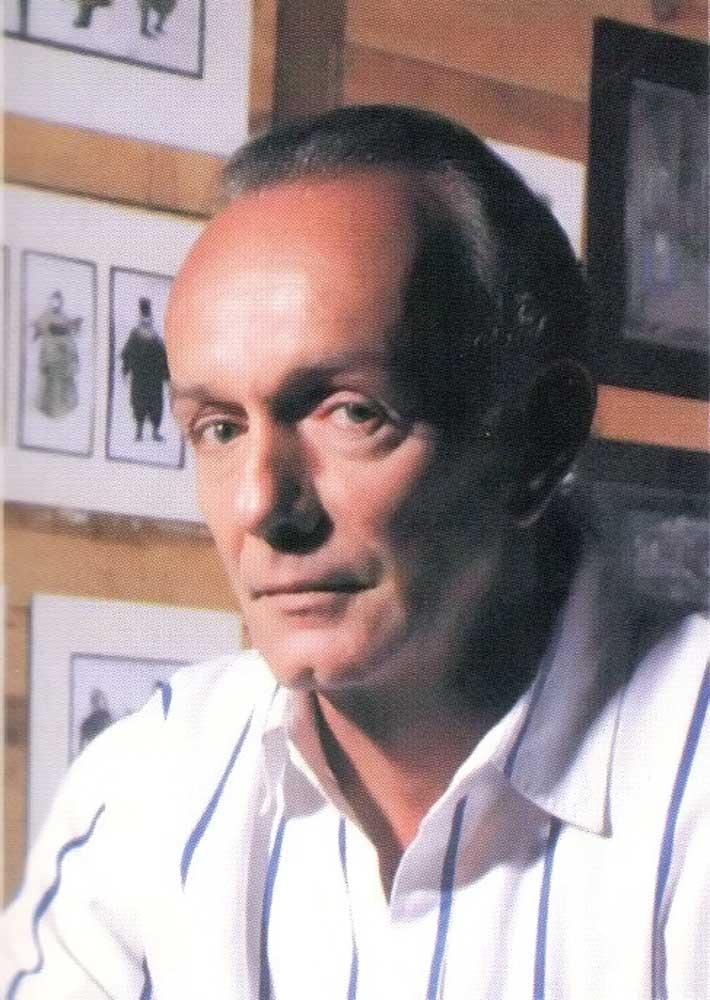 Peter Minshall. Photograph by Mark Lyndersay